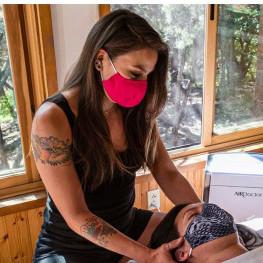 masked massage