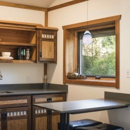 Moonlet kitchen